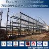 Prueba de óxido de construcción de bastidor de acero estructural