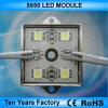 modulo chiaro di alluminio impermeabile di caso LED di 12V 4LED 5050