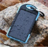 iPhone를 위한 5000mAh Solar Charger Waterproof Portable Dual USB Mobile Power 은행