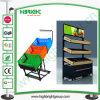 Support d'affichage mobile en plastique pour les fruits et légumes
