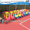 Equipamento plástico Hf-18702 do campo de jogos do brinquedo da prateleira dos carros das crianças