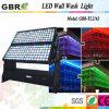 LED-Wand-Wäsche, die im Freienleuchte beleuchtet