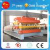 Roulis en acier coloré de plaque de mur formant la ligne de machine effectuant le matériau de construction (HKY)
