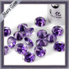 De buitensporige Violetkleurige van de Vorm Halfedelstenen van Shinning CZ (stg-73)