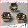 Noix Hex spéciales galvanisées de la classe 4.8-12.9/noix minces Hex de tête d'hexagone des noix M6-M30