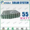 sistema di illuminazione solare portatile 55W (PETC-FD-55W)