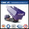 Cimc Huajun 화물 상자와 유압 양 날개의 길이를 가진 HOWO/JAC/Shacman/Foton/Beiben/FAW/Iveco 8*4 덤프 트럭