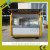 冷却装置が付いている普及した中国の移動式食糧カート