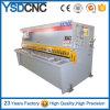 Fabricante de corte hidráulico resistente da máquina do CNC da placa de metal de Estun E21 para 8X2500