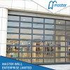 Aluminum Frame Transparent Panels Door Garage