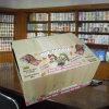 Fournisseur estampé par nouveauté de tissu de toilette de la Chine