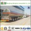 Nouveau 50 pétrolier de camion-citerne d'essence de camion-citerne de carburant d'alliage d'aluminium de Cbm 3axle