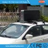 Afficheur LED imperméable à l'eau extérieur de dessus du taxi P5 pour la publicité