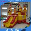 Corrediça Bouncy inflável do castelo do equipamento do parque de diversões combinado