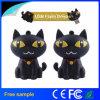 고양이 Pendrive 귀여운 실제적인 수용량 동물성 USB 기억 장치 저장