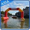 Arco che galleggia con il marchio, archi gonfiabili per gli sport di acqua