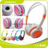 Écouteur professionnel d'enfants de couleur pure orange
