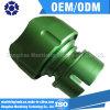 Cnc-Bauteil-Aluminiumpräzisions-maschinell bearbeitenteil mit dem Grün anodisiert