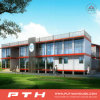중국은 모듈 사무실 건물로 가벼운 강철 별장 집을 조립식으로 만들었다