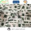Kleid-Druck-Futter der Polyester-Mann-100% oder der Frauen