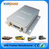 Ubicación de dos vías de Monitor de combustible vehículo Tracker GPS