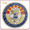 Weiches Enamel Custom 3D Logo Police Challenge Coin