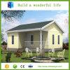 A casa moderna estrutural de aço modular Prefab do baixo custo pré-fabricou