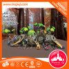 Mini gewundener Plättchen-Spielplatz-Waldim freiengymnastik-Plättchen