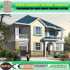 Дом виллы дома гостиницы стальной структуры Южной Африки светлая полуфабрикат