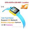 Kind-intelligente Uhr des Förderung-Geschenk-D18 mit GPS-Verfolger
