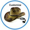 Sombrero de Paja Vaquero personalizado