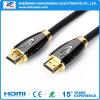 Alta qualità HDMI al cavo di HDMI con dorato placcato
