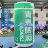 Aufblasbare Bierflasche/aufblasbarer vorbildlicher Kasten