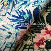 Tecido impresso de flor de linho de algodão para vestuário têxtil (GLLML127)