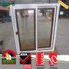 Ventana de desplazamiento de madera del PVC del color, ventana de la doble vidriera para el dormitorio
