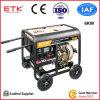 Dieselset des generator-6kw mit luftgekühltem Motor