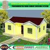 Porta Cabañas prefabricadas de acero de la luz de casa para Alojamiento privado