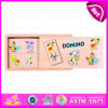 2015 Kids promozionale Traveler Domino, Wooden Domino Set Game Toy per Children, Professional Domino Game Set in Wooden Box W15A015