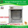 Incubateur automatique approuvé Hatcher d'oeufs de la CE pour 880 oeufs de poulet
