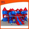 Indoor plástico impertinente Castelo Playground Equipment