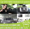 Boîte de navigation de l'androïde 4.0 de procédé d'évolution de la voiture DVD pour BMW F30 F20 F10 (EW860)
