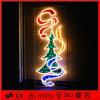 休日の装飾のモチーフのクリスマスツリーLEDの街灯