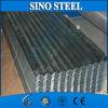 Feuille en acier galvanisée de toiture en métal ondulé
