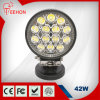 Sale caliente Round 42W LED Car Driving Work Light para Truck y Vehicles