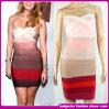 Горячее сбывание 2014 большая часть платье повязки нашивок способа пурпуровое