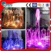 fontaine d'eau colorée carrée de musique d'éclairage de 1m