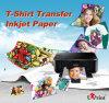Oscurità chiara/scura della carta da trasporto termico della maglietta del getto di inchiostro/laser A4/A3