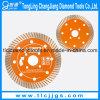 Het turbo Blad van de Zaag van de Diamant van het Type Cirkel Ceramische