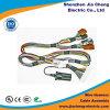 Conectores de alimentación del mazo de cables del conjunto de cables