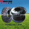 Forklift, Forklift Tyre Rim, Wheel Rim를 위한 5.00s-12 Split Wheel